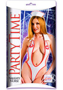 Party Time Naughty Nurse White And Red