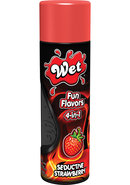 Wet Fun Flavors 4 In 1 Water Based Lubricant Seductive...