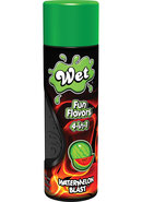 Wet Fun Flavors 4 In 1 Water Based Lubricant Watermelon...