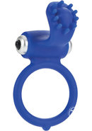 Body And Soul Infatuation Silicone Cockring Waterproof Blue...