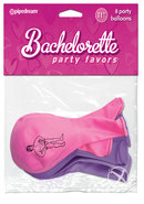 Bachelorette Party Favors Party Balloons 8 Pack Assorted Colors 11 Inch