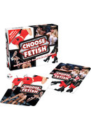 Choose Your Fetish Couples Activity Card Game