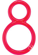 Ofinity Super Stretchy Double Silicone Cockring Waterproof...