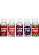 Motion Lotion Elite Flavored Body Glide 5 Assorted Flavors...