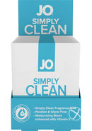 Jo Simply Clean Personal Cleasing Wipes 24 Single Packs Per...