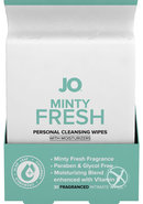 Jo Minty Fresh Personal Cleansing Wipes 30 Wipes Per Pack