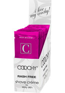 Body Boudoir Coochy Shave Creme Frosted Cake Foil Packs 24...