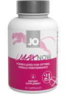 Jo Lmax Now Female Performance Dietary Supplement 42 Pills...