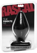Rascal The Inmate V2 Intermediate Anal Plug Black 5.5 Inch