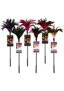 Fantasy Tickler Feather Tickler 6 Piece Assorted Colors