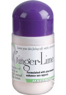 Pheromone Massage Lotion Ginger Lime 4 Ounce