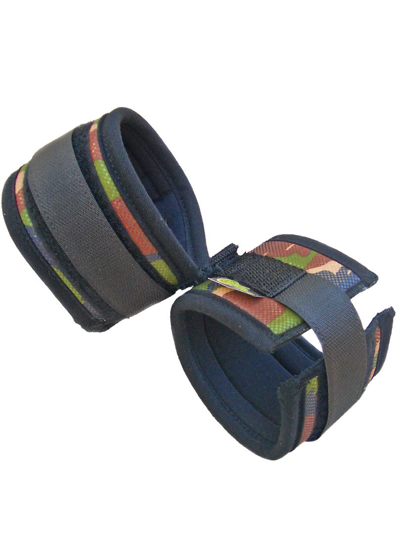 Whip Smart Ankle Cuffs Camo Green