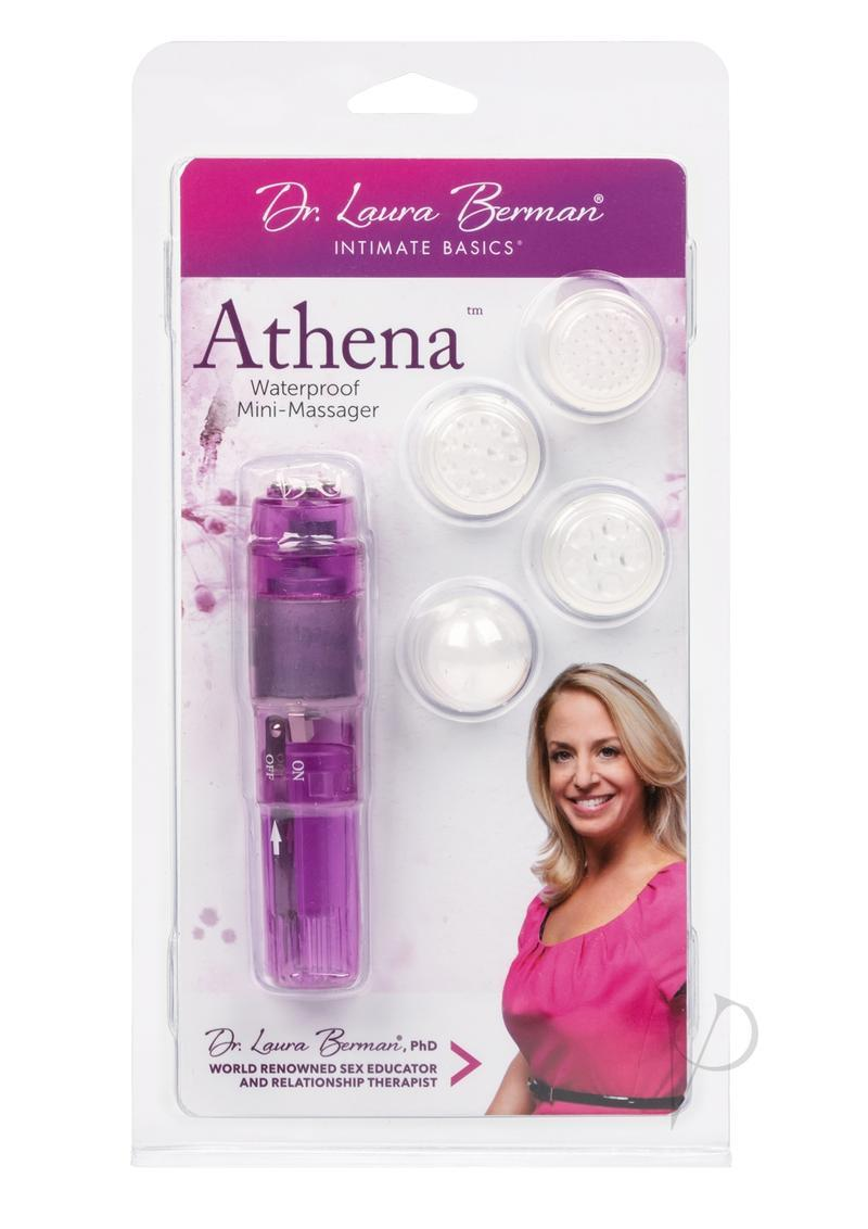 Dr Laura Berman Intimate Basics Athena Waterproof Mini Massager Pink Clam