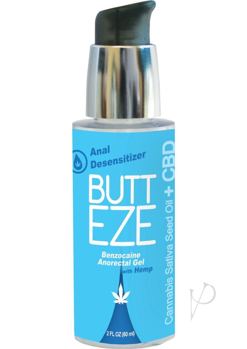 Butt Eze Anal Desensitizing W/hemp 2oz