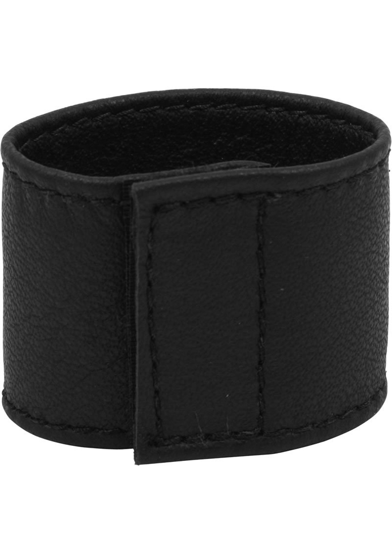 C And B Gear Velcro Stretcher Leather 1.5 Inch Black