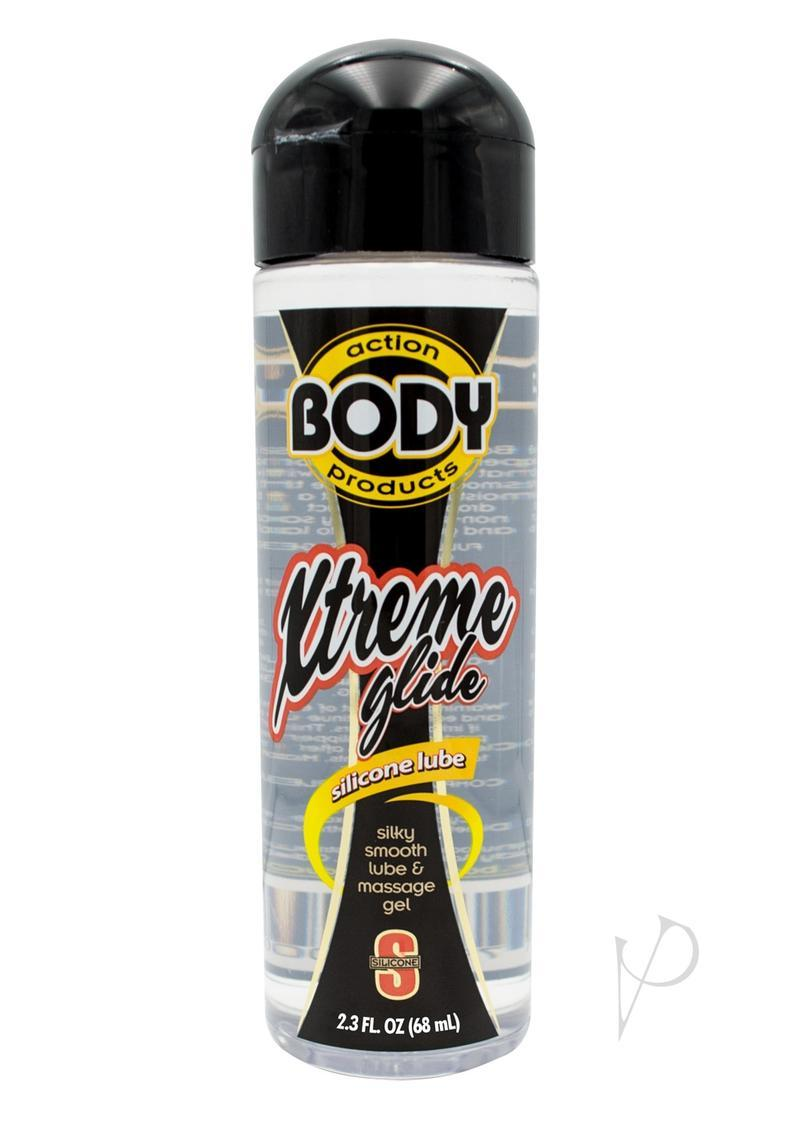 Xtreme Glide Body Action Silicone Based Lubricant 2.3 Ounce