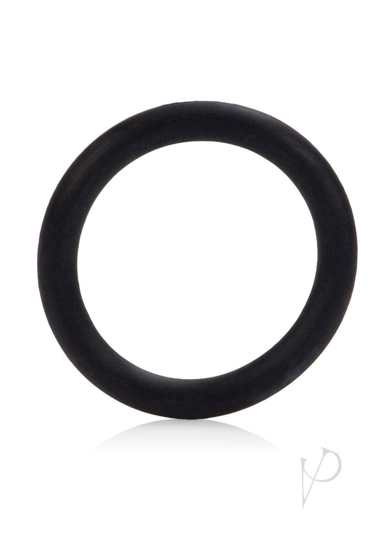 Rubber Cock Ring Medium 1.5 Inch Diameter Black